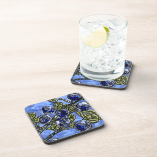 Blueberry Beverage Coaster
