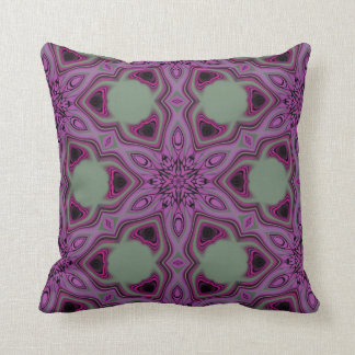 Blueberry blossom 2 throw pillow
