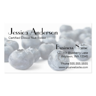 Blueberry Bunch Business Card