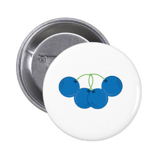 Blueberry Bunch Pinback Button