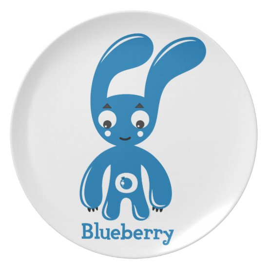 Blueberry Bunny Plate