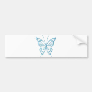 Blueberry Butterfly Bumper Sticker..! Bumper Sticker