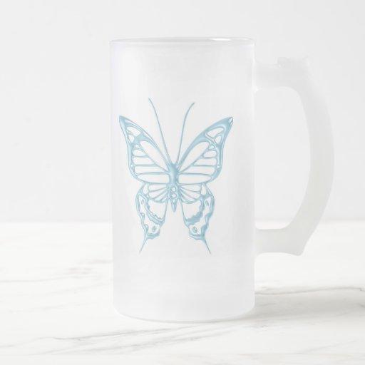 Blueberry Butterfly Mug..!