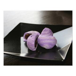 Blueberry cakes photo art