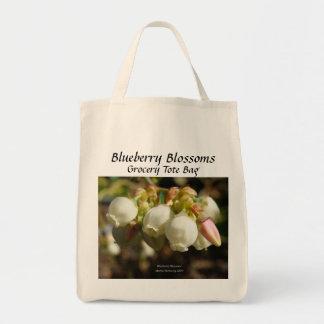 Blueberry - California Gardens Grocery Tote Bag