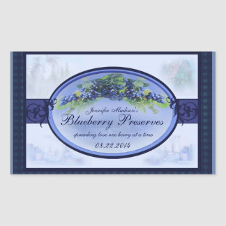 Blueberry cannning label R2b