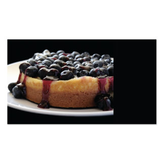 blueberry cheesecake business card