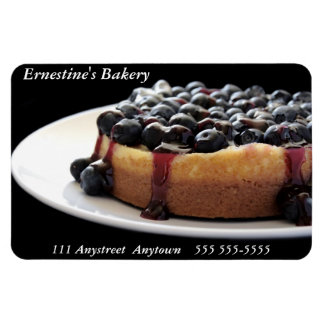blueberry cheesecake flexible magnet