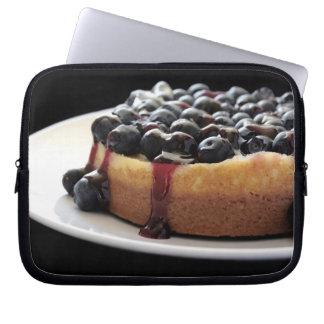blueberry cheesecake neoprene laptop sleeve