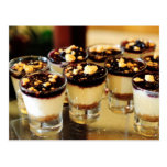 Blueberry Cheesecake Shots Post Card