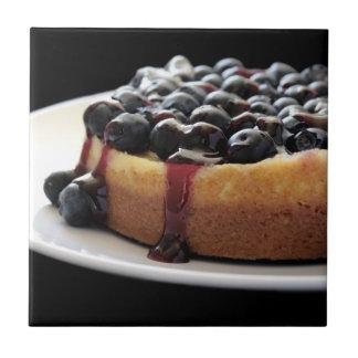blueberry cheesecake tile