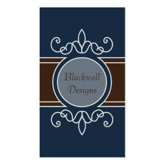 Blueberry Classic Harvest Business Cards