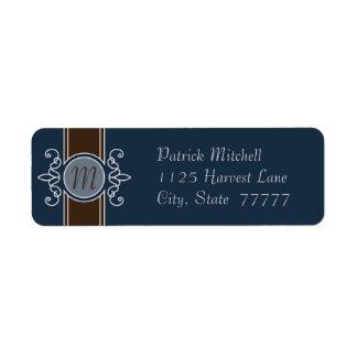 Blueberry Classic Harvest Return Address Labels