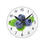 Blueberry Clock Clocks