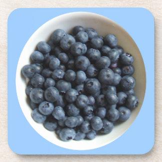Blueberry Cork Coaster (set of 6)