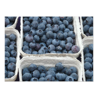Blueberry Crates 5.5x7.5 Paper Invitation Card