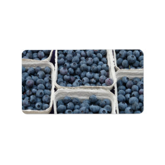 Blueberry Crates Label