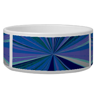 Blueberry Cream Vanishing Point Bowl