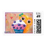 Blueberry Cupcake Love Postage