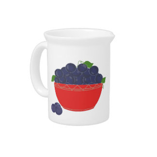 Blueberry Delight Drink Pitcher