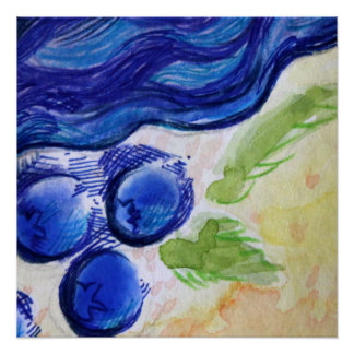 Blueberry Dream Poster