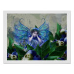 Blueberry Fairy Poster