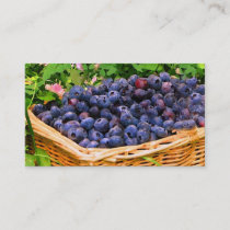 Blueberry Farm Business Card