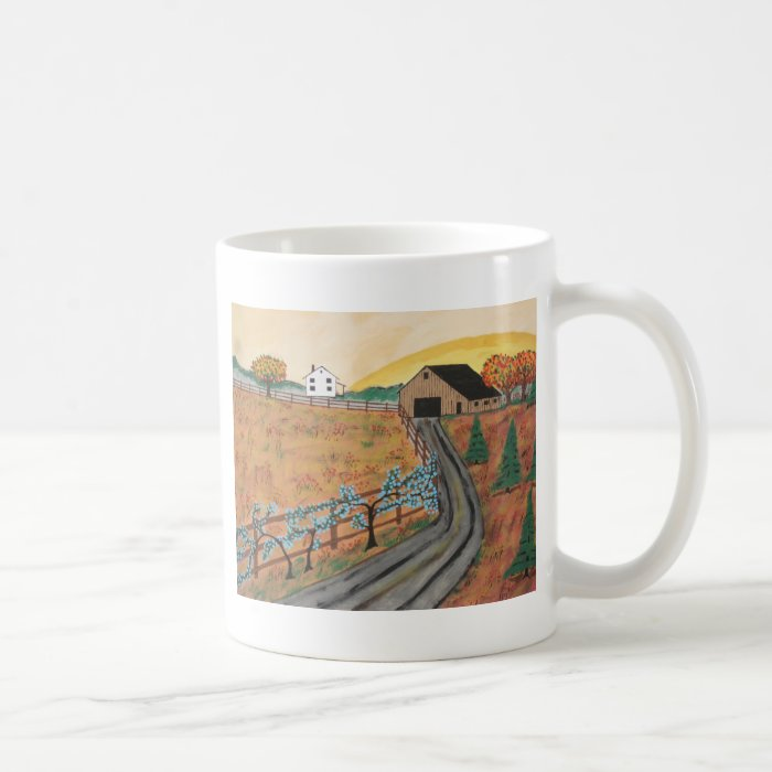 Blueberry Farm Coffee Mug