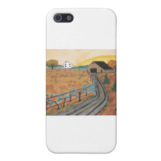 Blueberry Farm Cases For iPhone 5
