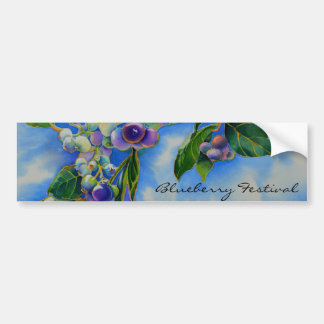 Blueberry Festival Bumper Sticker