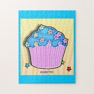 Blueberry Frosted Cupcake Puzzle