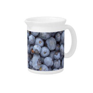 Blueberry fruits pitchers