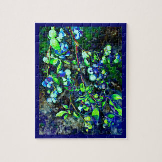 Blueberry - green hue puzzle