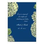 Blueberry Hydrangea Invitation