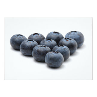 Blueberry Invitations