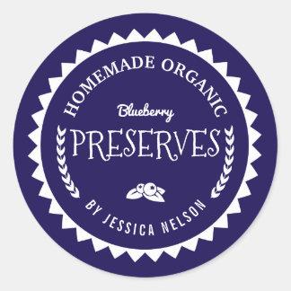 Blueberry Jam Preserves Food Gift Kitchen Sticker