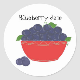 Blueberry Jam Sticker