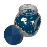 Blueberry Jelly Belly....Jelly Bean Candy Glass Jars