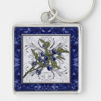 Blueberry Keychain
