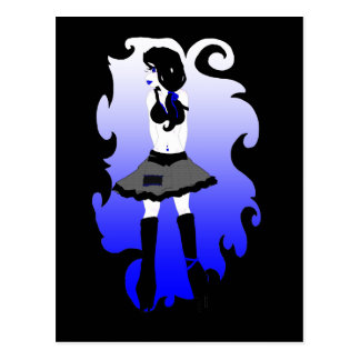 blueberry loli postcard