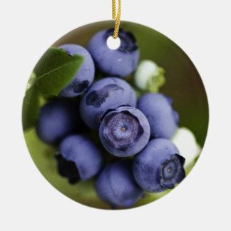 blueberry lover christmas ornament