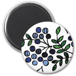 Blueberry magnet floral design