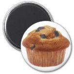 Blueberry Muffin 2 Inch Round Magnet