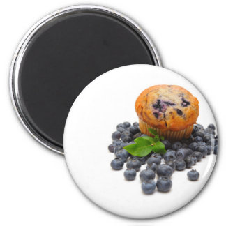 Blueberry Muffin Magnet