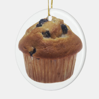 Blueberry Muffin Christmas Ornaments