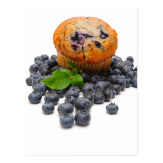 Blueberry Muffin Postcard