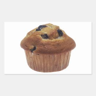Blueberry Muffin Rectangular Stickers