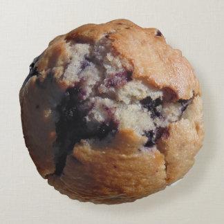 Blueberry muffin top pillow