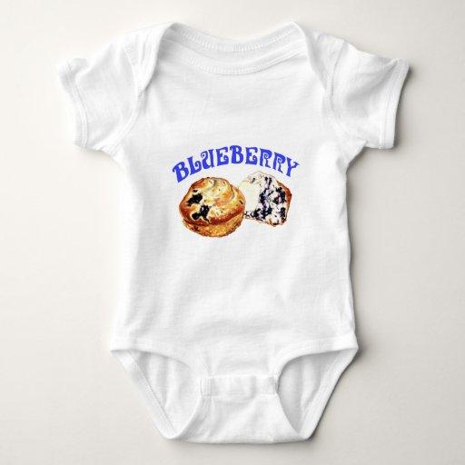 Blueberry Muffins Baby Bodysuit