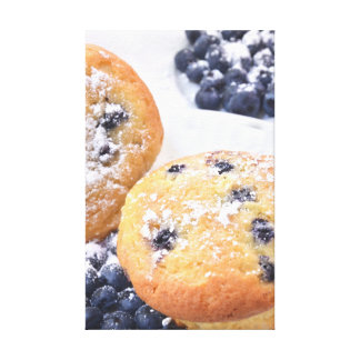 Blueberry Muffins Canvas Print